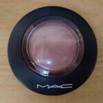 MAC ミネラライズ ブラッシュ ウォームソウルの口コミ